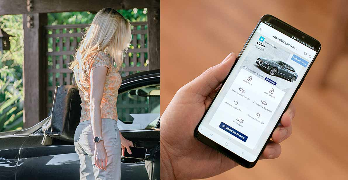 Digital Key enables convenient and secure car-sharing
