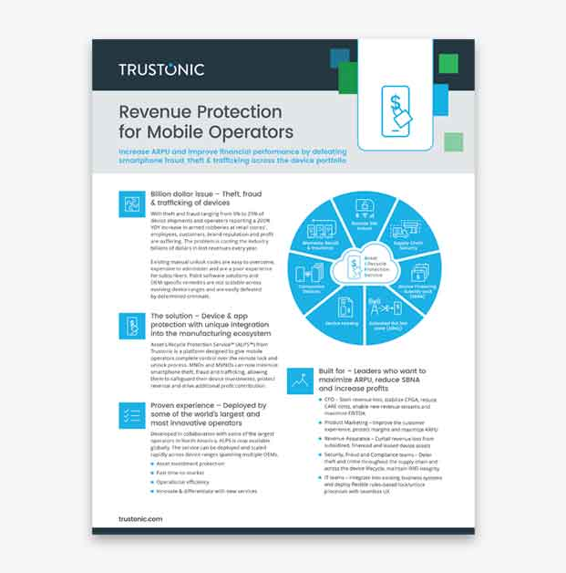 Download Asset Lifecycle Protection Service product information
