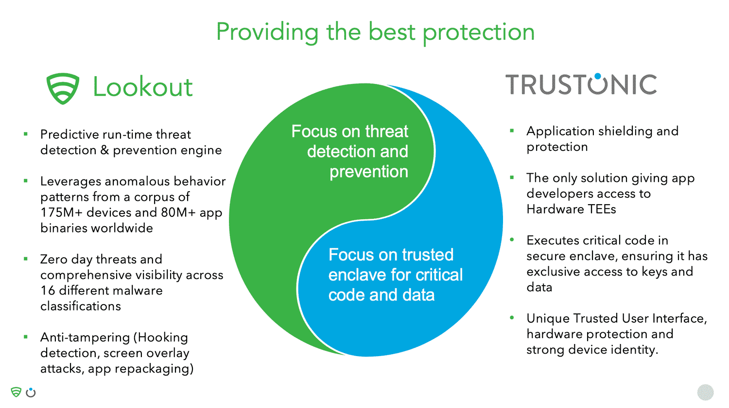 Lookout & Trustonic's Partnership Provides the Most Robust Mobile Banking App Security Solutions