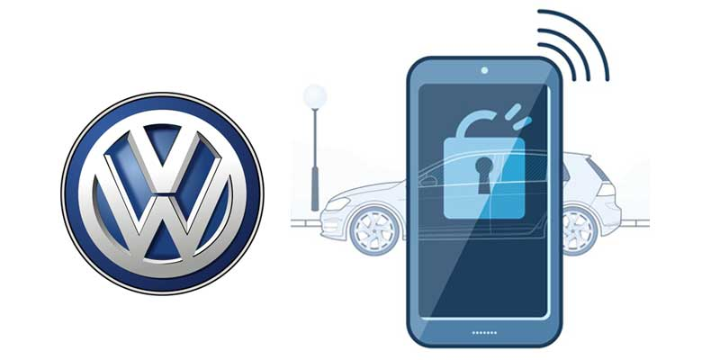 Volkswagen Digital Key &  VW Virtual Key Sharing App