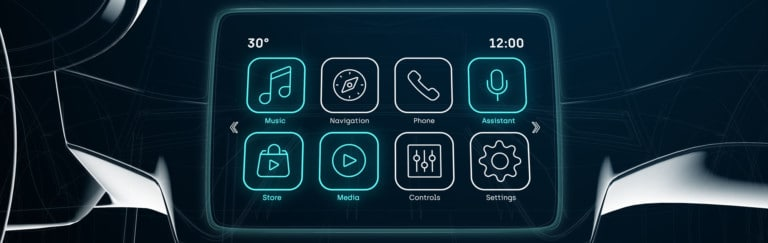 IDI Connected Car Screen